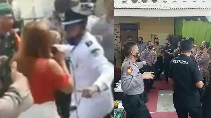 Polisi-Dangdutan-Saat-Pandm