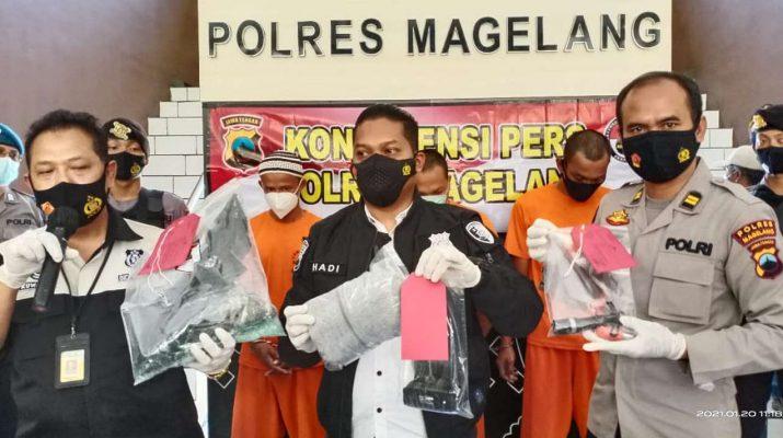 Resmob Magelang Tangkap Pencuri-suluh.id