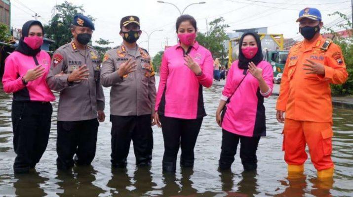 Danbrimob, Kapolrestabes Semarang, Dirpolairut polda jateng