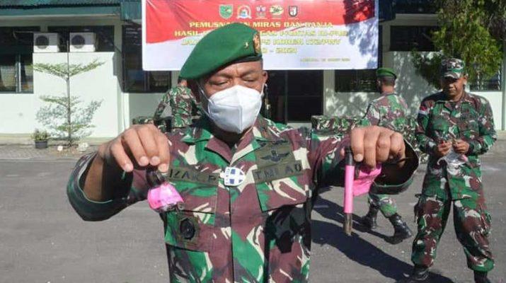 Izak Pangemanan rilis penyelundupan senjata api di papua