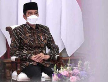 Presiden Joko Widodo membuka Kongres XXXI HMI Tahun 2021 dari Istana Negara-SLH