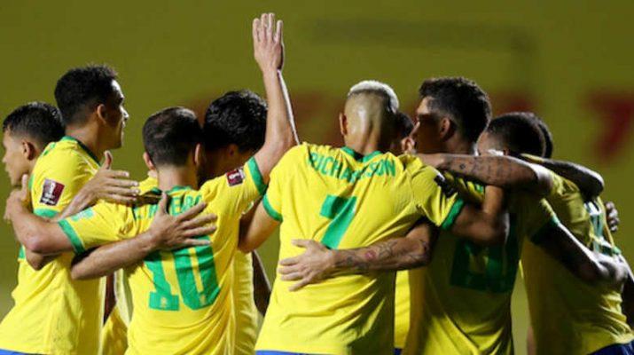 Brasil VS Ekuador Copa America 2021