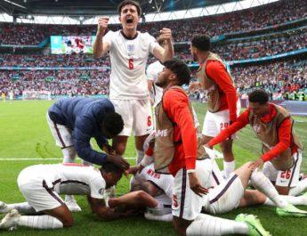Inggris Taklukan Jerman di Euro 2020