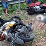 Kecelakaan maut Sepeda Motor Di Magetan