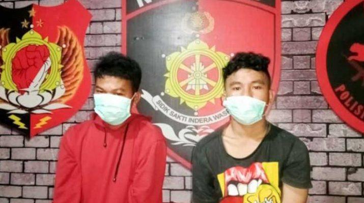 Pembacok wartawan di Gorontalo