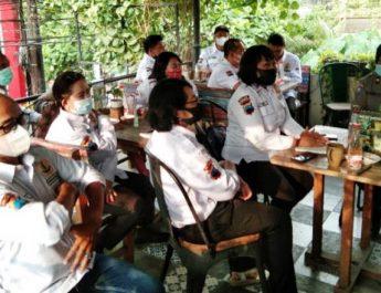 Pertemuan Kopdarkamtibmas di Hayamwuruk Semarang