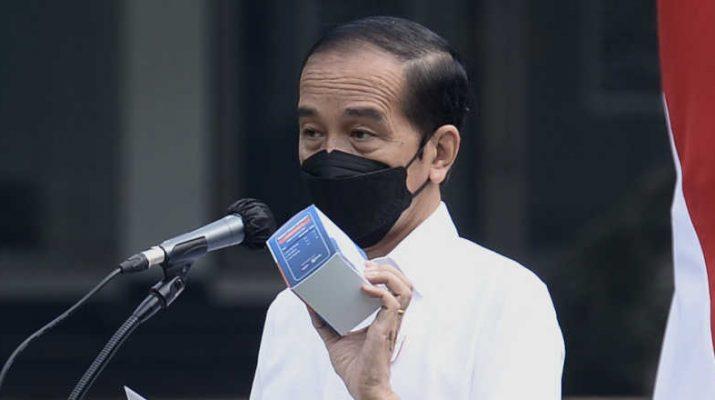 Presiden Joko Widodo luncurkan obat gratis