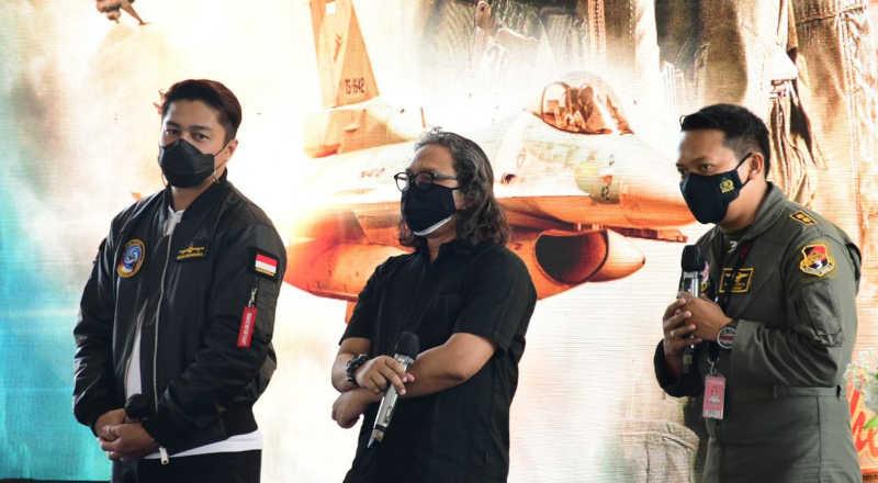 TNI AU Launcing Film Srigala Langit