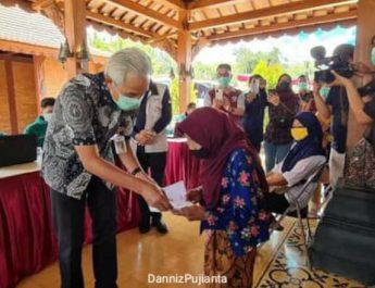 Ganjar Pranowo kunjungan vaksin di magelang-suluh