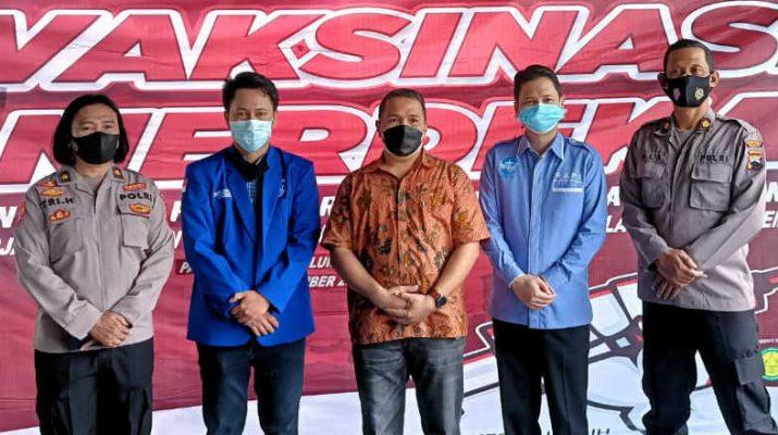 Vaksin merdeka di RS Panti Wilasa Kota Semarang-suluh