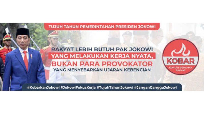 Spanduk Dukungan Jokowi-suluh